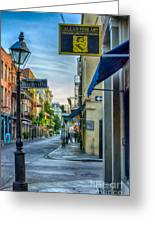 Early Morning In French Quarter Nola Greeting Card