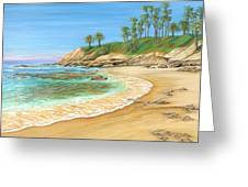 Early Morning Laguna Greeting Card
