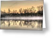Early Morning Mist Greeting Card by Lynn Geoffroy