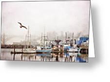 Early Morning Newport Oregon Greeting Card
