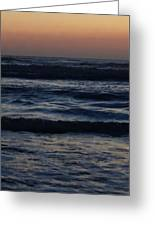 Early Morning Ocean Greeting Card