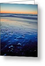 Early Morning On A Sea Coast Greeting Card