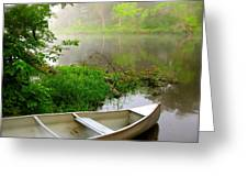 Early Morning Paddle Greeting Card by Jody Partin