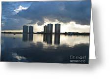 Early Morning Reflection Greeting Card