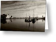 Early Morning River Suir, Waterford Greeting Card