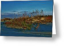 Early Morning Seascape Greeting Card
