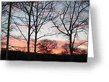 Early One Morning Iv Greeting Card