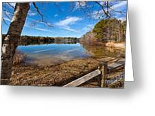 Early Spring On Long Pond Greeting Card