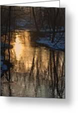 Early Winter Morning Greeting Card