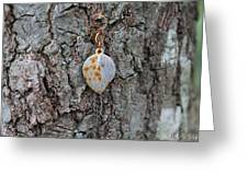 Earring In A Tree Greeting Card