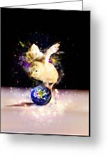 Earth Chick Greeting Card