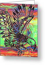 Earth Eagle Greeting Card