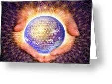Earth Healing Greeting Card
