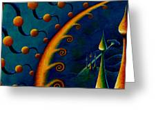Earth Horizon 2010 Greeting Card
