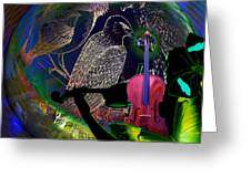 Earth Melody Greeting Card