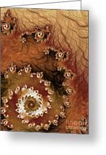Earth Rhythms Greeting Card by Heidi Smith