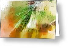 Earth Silk Greeting Card
