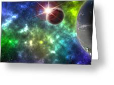 Earth The Final Frontier  Greeting Card