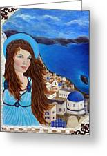 Earthangel Athena Greeting Card by The Art With A Heart By Charlotte Phillips
