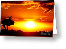 Earth's Last Citadel Greeting Card