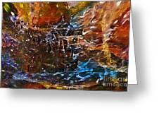 Earthy Abstract Greeting Card