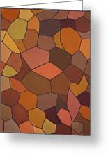 Earthy Angles Greeting Card