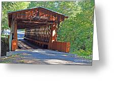 Easley Covered Bridge Greeting Card