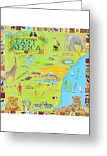 East Africa Greeting Card