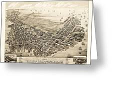 East Boston 1879 Greeting Card
