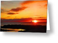 East Coast Sunrise  Greeting Card