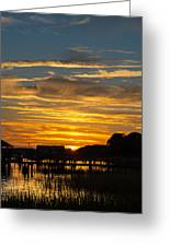 East Coast Sunset Greeting Card