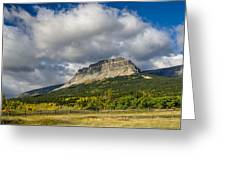 East Flattop Mountain Greeting Card