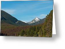 East Goat Mountain Greeting Card