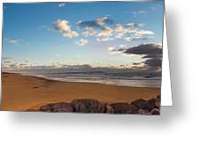 East Hampton Sunrise Greeting Card