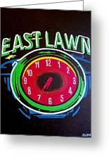 East Lawn Greeting Card