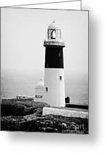 East Light Lighthouse Altacarry Altacorry Head Rathlin Island  Greeting Card