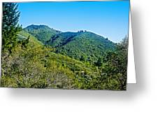 East Peak Of Mount Tamalpias-california Greeting Card