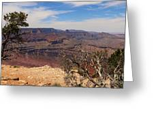 East Rim Grand Canyon Greeting Card