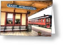 East Strasburg Station Greeting Card