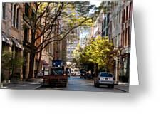 East Village Greeting Card