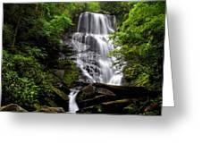 Eastatoe Falls II Greeting Card
