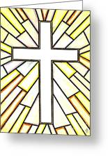 Easter Cross 3 Greeting Card