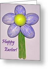 Easter Egg Flower Greeting Card