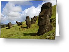 Easter Island 1 Greeting Card