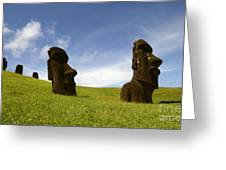 Easter Island 10 Greeting Card