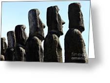 Easter Island 11 Greeting Card