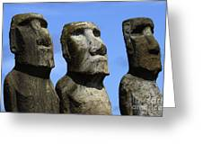 Easter Island 16 Greeting Card
