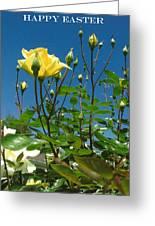 Easter-rose Greeting Card