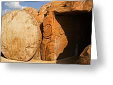Easter Tomb Groom Texas Greeting Card
