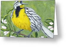 Eastern Meadowlark Greeting Card